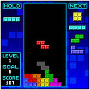 tetris game screen