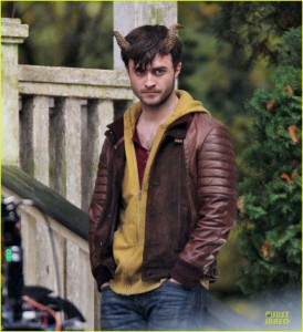 "Exclusive... Daniel Radcliffe Films ""Horns"""