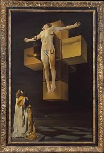 Salvador Dalí, Crucifixion (Corpus Hypercubus), 1954.